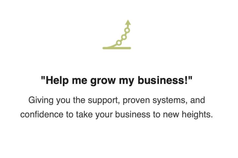 grow my business!