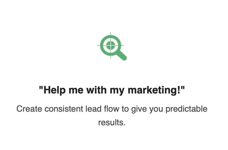 Help me with my marketing!